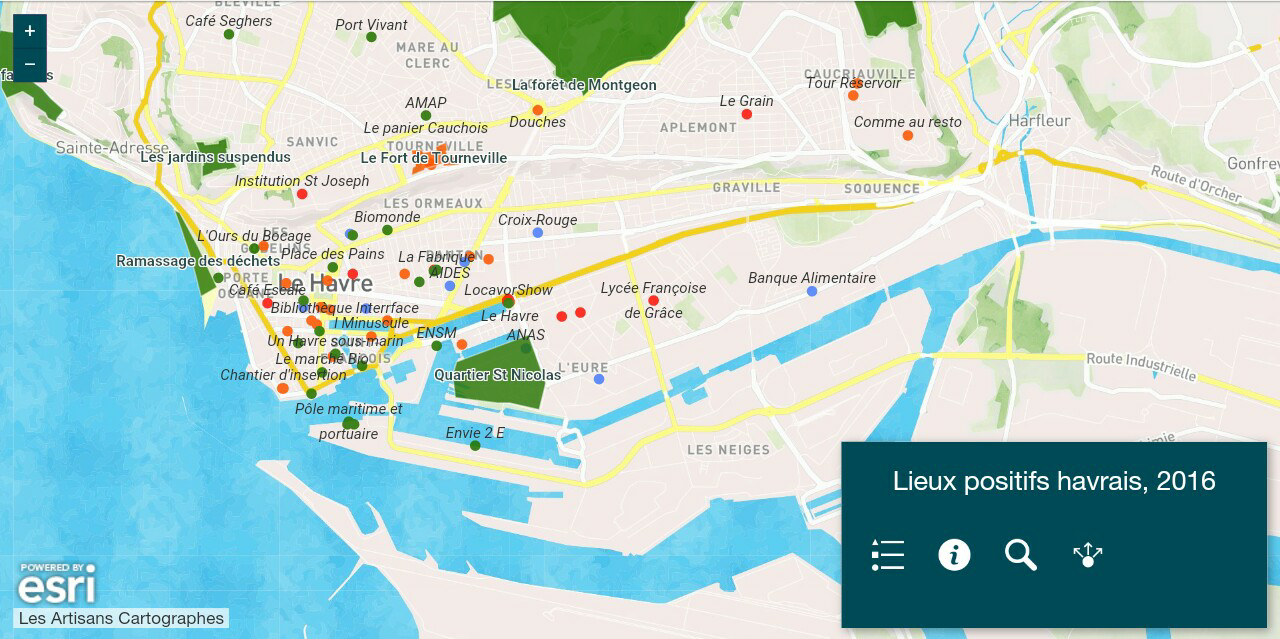 Cartographie des acteurs positifs, Le Havre